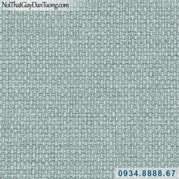 Giấy dán tường Hàn Quốc ARTBOOK, giấy dán tường gân vải bố màu xanh dương, xanh lơ, xanh rêu 57185-8