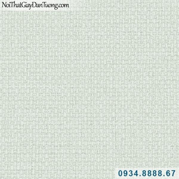 Giấy dán tường Hàn Quốc ARTBOOK, giấy dán tường họa tiết vải bố màu xanh dương nhạt 57185-6