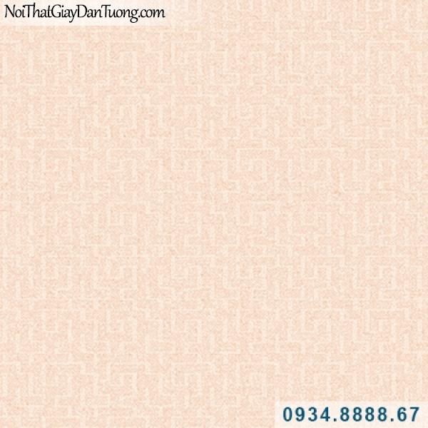 Giấy dán tường Hàn Quốc ARTBOOK, giấy dán tường hoa văn họa tiết zic zac màu hồng, họa tiết nhỏ mờ 57182-1