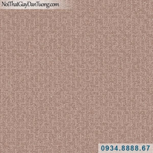 Giấy dán tường Hàn Quốc ARTBOOK, giấy dán tường màu đỏ thẫm, gân zic zac nhẹ, họa hoa văn họa tiết 57182-2