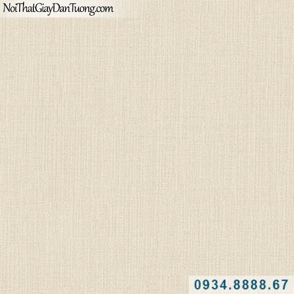 Giấy dán tường Hàn Quốc ARTBOOK, giấy dán tường màu vàng kem, giấy gân trơn, gân nhỏ 57178-2, sọc xuôi nhuyễn