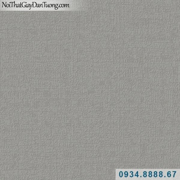 Giấy dán tường Hàn Quốc ARTBOOK, giấy dán tường màu xám đậm, màu sẫm, giấy gân trơn màu tối 57179-7