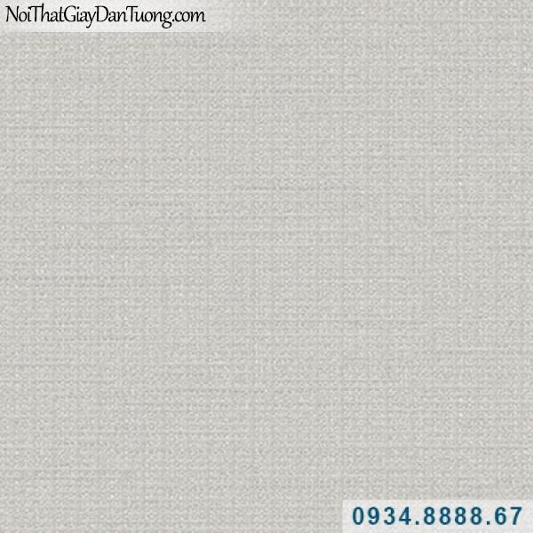 Giấy dán tường Hàn Quốc ARTBOOK, giấy dán tường màu xám gân 57186-7