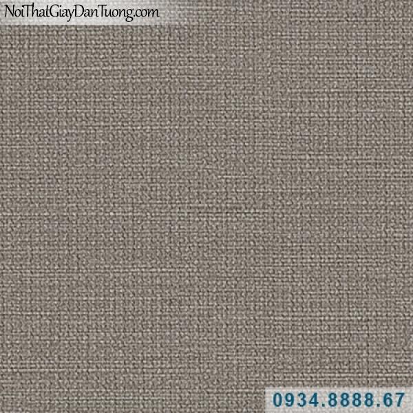 Giấy dán tường Hàn Quốc ARTBOOK, giấy dán tường màu xám, giấy gân trơn, gân nhỏ 57183-5