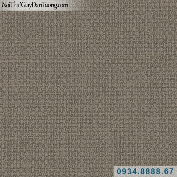 Giấy dán tường Hàn Quốc ARTBOOK, giấy dán tường vải bố màu vàng đậm, màu nâu vàng 57185-5