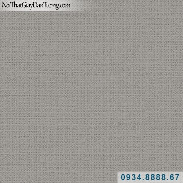 Giấy dán tường Hàn Quốc ARTBOOK, giấy dán tường xám nâu, có gân, màu nâu sẫm 57186-9