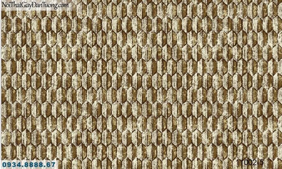Giấy dán tường AQUAMAN, giấy dán tường lục giác họa tiết màu vàng 11002-5
