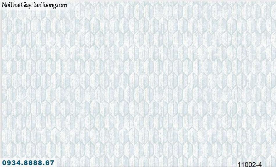Giấy dán tường AQUAMAN, giấy dán tường lục giác màu xám xanh, xanh xám 11002-4