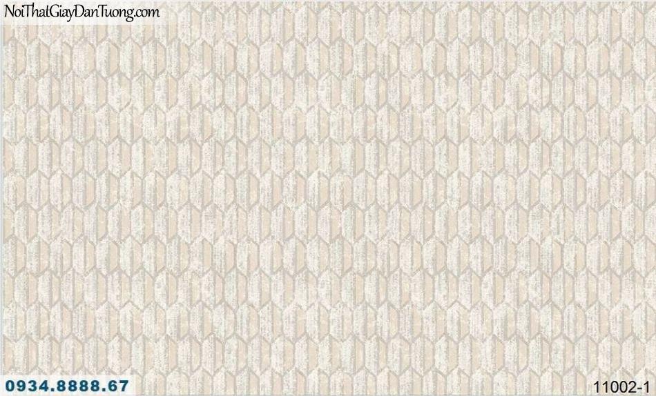 Giấy dán tường AQUAMAN, giấy dán tường màu vàng nhạt, họa tiết hình hạt lúa lục giác 11002-1