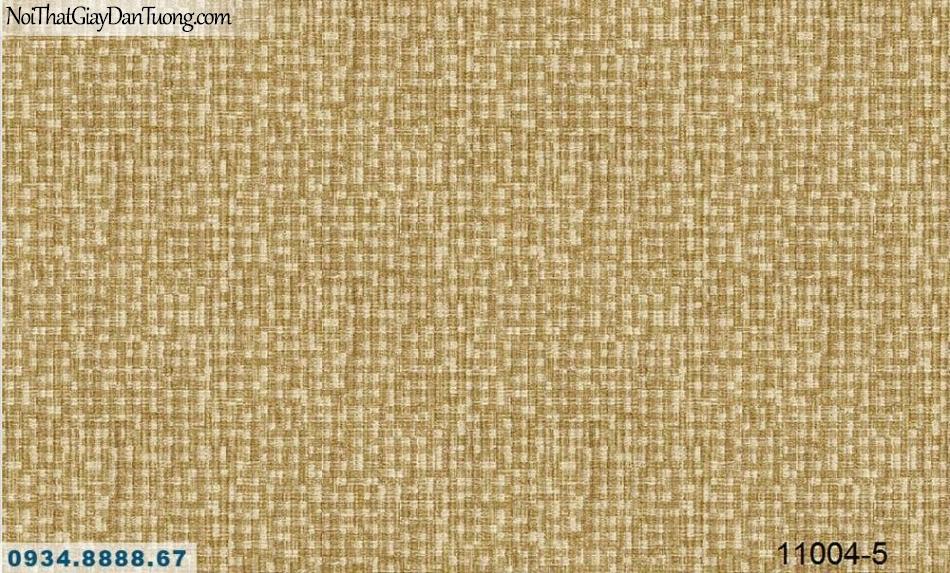 Giấy dán tường AQUAMAN, giấy dán tường gân vải bố màu vàng 11004-5, giấy rất dễ thi công, dán đẹp khó thấy mí nối