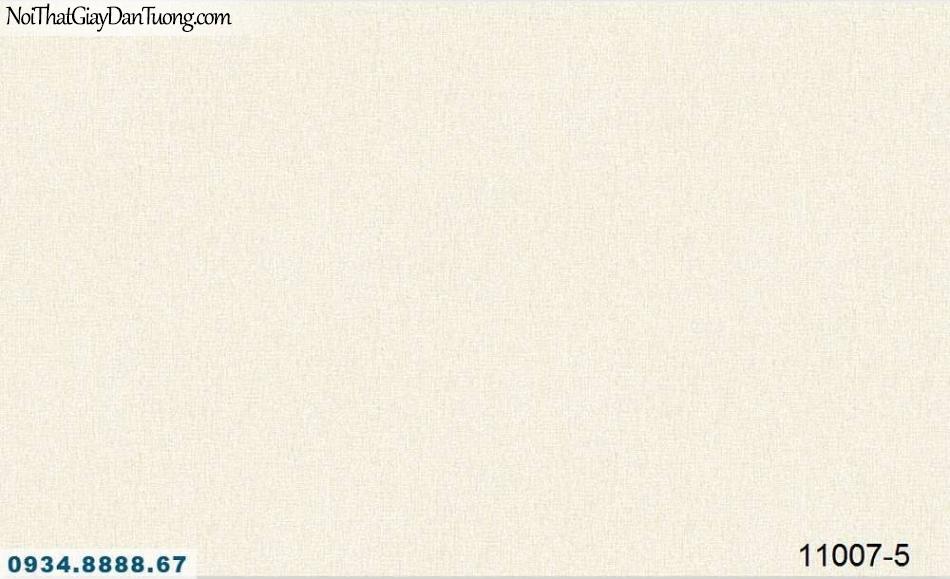 Giấy dán tường AQUAMAN, giấy dán tường gân, hoa văn họa tiết nhỏ màu kem, màu vàng kem 11007-5