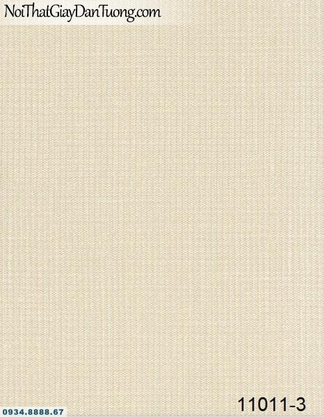 Giấy dán tường AQUAMAN, giấy dán tường gân màu vàng kem, giấy trơn không có hoa văn 11011-3