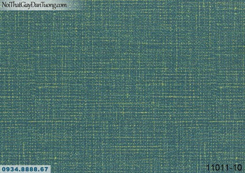 Giấy dán tường AQUAMAN, giấy dán tường gân màu xanh ngọc, xanh lá, xanh cây, xanh chuối 11011-10, giấy dán tường cho căn hộ cao cấp chung cư, đảo kim cương