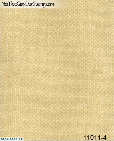 Giấy dán tường AQUAMAN, giấy dán tường gân trơn màu vàng tươi 11011-4, thi công giấy dán tường quận Bình Tân