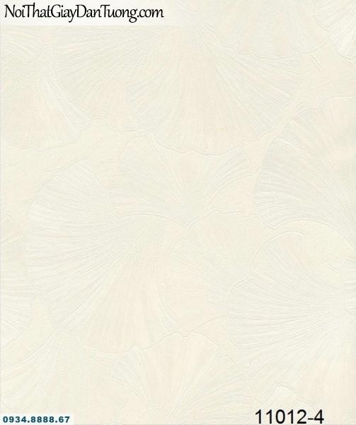 Giấy dán tường AQUAMAN, giấy dán tường hình lá cây bạch quả ẩn trong nền xám, trắng xám 11012-4, hướng dẫn dán giấy tường, cách thi công giấy dán tường