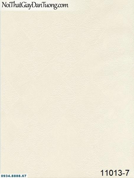 Giấy dán tường AQUAMAN, giấy dán tường họa tiết caro màu kem 11013-7