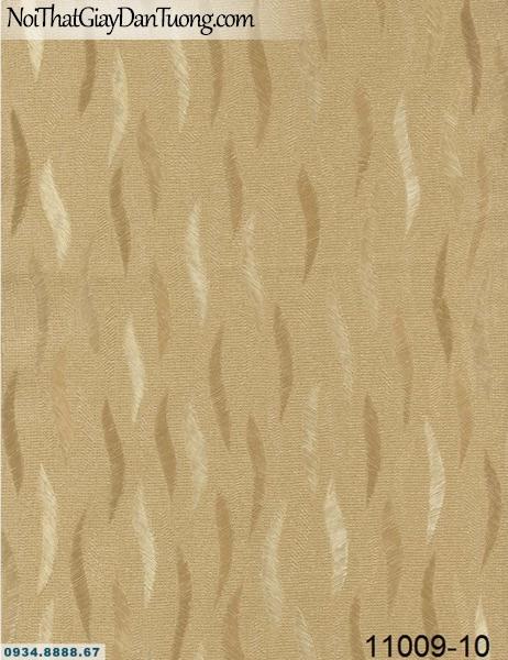 Giấy dán tường AQUAMAN, giấy dán tường họa tiết lá rơi sóng lượn màu vàng, mẫu giấy dán tường ở Tphcm