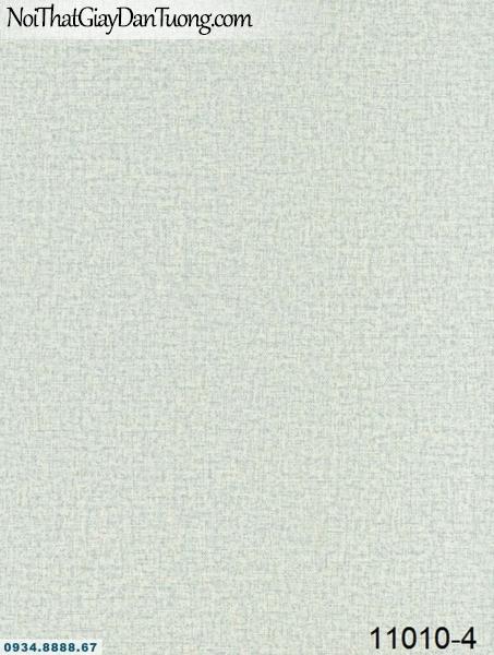 Giấy dán tường AQUAMAN, giấy dán tường họa tiết trơn màu xanh xám nhạt 11010-4, bán giấy dán tường tại quận Bình Tân