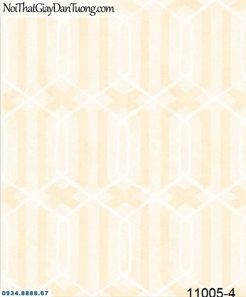 Giấy dán tường AQUAMAN, giấy dán tường hoa văn lục giác màu vàng 11005-4, phân phối giấy dán tường Hàn Quốc, Đài Loan, Trung Quốc 11005-4