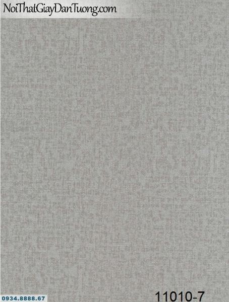 Giấy dán tường AQUAMAN, giấy dán tường màu xám, màu xám đậm, xám tối, xám đất, giấy gân trơn 11010-7