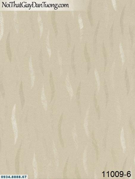 Giấy dán tường AQUAMAN, giấy dán tường sọc xoán họa tiết lá cây rơi lượn sóng 11009-6, đại lý giấy dán tường