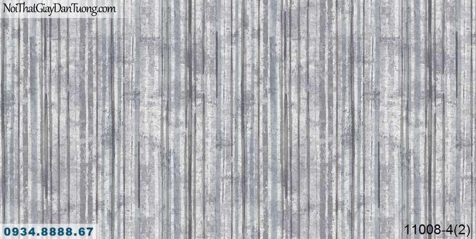 Giấy dán tường AQUAMAN, giấy dán tường sọc xuôi giả gỗ bóc, gỗ cũ màu nâu sẫm 11008-4, mua bán giấy dán tường tphcm