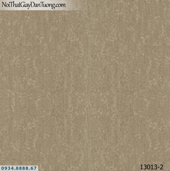 Giấy dán tường NEPTUNE, giấy dán tường gân màu nâu đất, nâu xám, xám vàng 13013-2