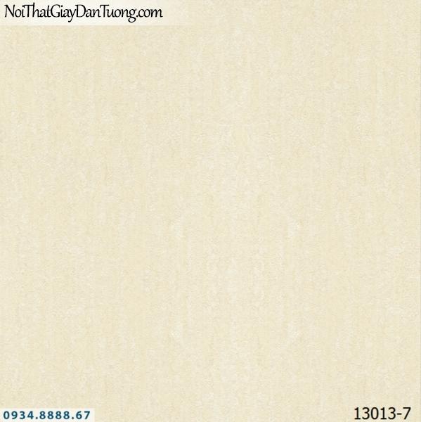 Giấy dán tường NEPTUNE, giấy dán tường màu vàng kem, vàng nhạt, giấy gân 13013-7