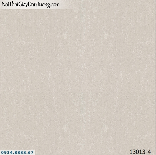 Giấy dán tường NEPTUNE, giấy dán tường màu xám, màu nâu, giấy gân trơn đơn giản 13013-4