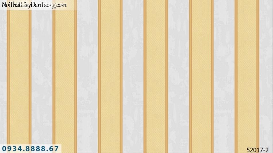 Giấy dán tường NEPTUNE, giấy dán tường sọc, sọc vàng xám, màu xám màu vàng 52017-2