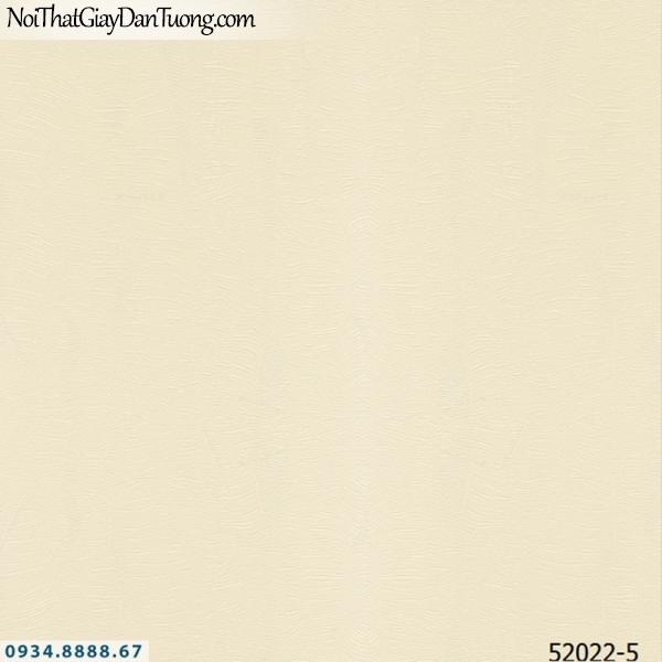 Giấy dán tường NEPTUNE, giấy gân trơn màu vàng kem 52022-5