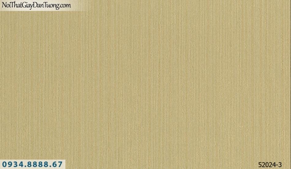 Giấy dán tường NEPTUNE, giấy sọc nhuyễn màu vàng, màu vàng đất 52024-3