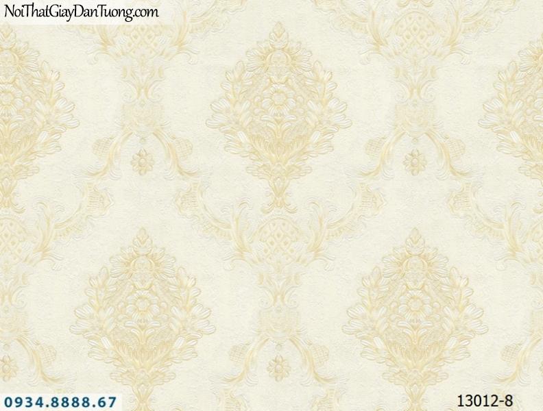 Giấy dán tường NEPTUNE, họa tiết cổ điển mà trắng xám, trắng bạc, xám bạc 13012-8