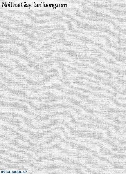 Giấy dán tường AURORA, Giấy dán tường gân màu trắng xám, xám bạc 4203-5