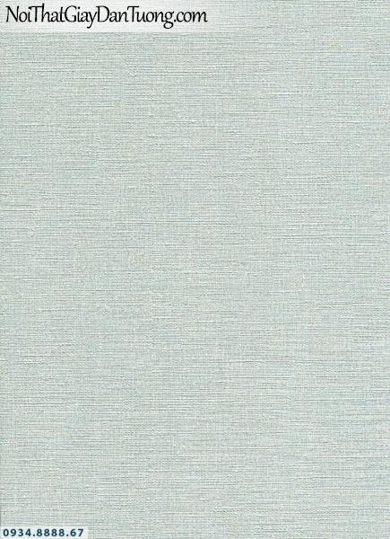 Giấy dán tường AURORA, Giấy dán tường gân nổi, giấy nền xanh ngọc nhạt, xanh lá nhạt 4206-3
