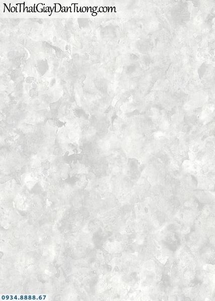 Giấy dán tường AURORA, Giấy dán tường giả bê tông, xi măng màu xám trắng, màu trắng xám 4208-1