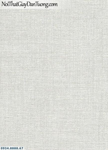 Giấy dán tường AURORA, Giấy dán tường trắng kem, giấy gân màu trắng xám, xám bạc 4203-1
