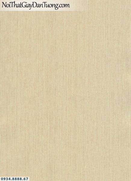 Giấy dán tường AURORA, Giấy dán tường gân trơn màu vàng 4213-4
