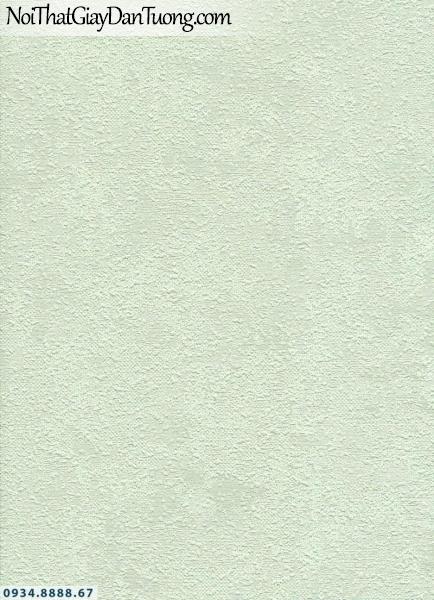 Giấy dán tường AURORA, Giấy dán tường gân trơn, màu xanh lá nhạt, xanh ngọc nhạt, xanh nhẹ 4215-2