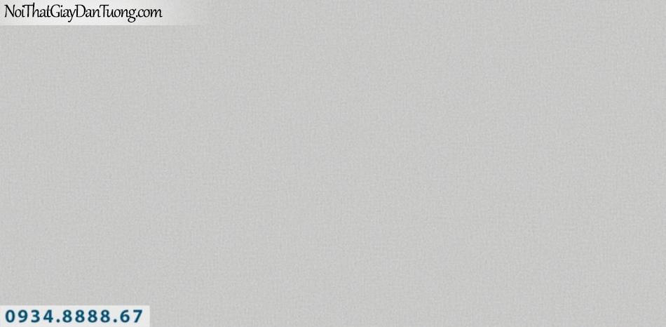 J 100 | Giấy dán tường J100 Hàn Quốc, giấy dán tường gân trơn màu xám đẹp 9334-4