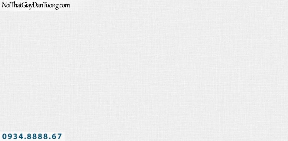 J 100 | Giấy dán tường J100 Hàn Quốc, giấy dán tường gân trơn màu trắng xám 9374-4 | Thi công giấy dán tường Quận 2