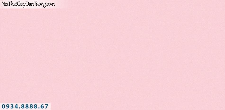 J 100 | Giấy dán tường J100 Hàn Quốc, giấy dán tường màu hồng, giấy gân trơn 9388-4