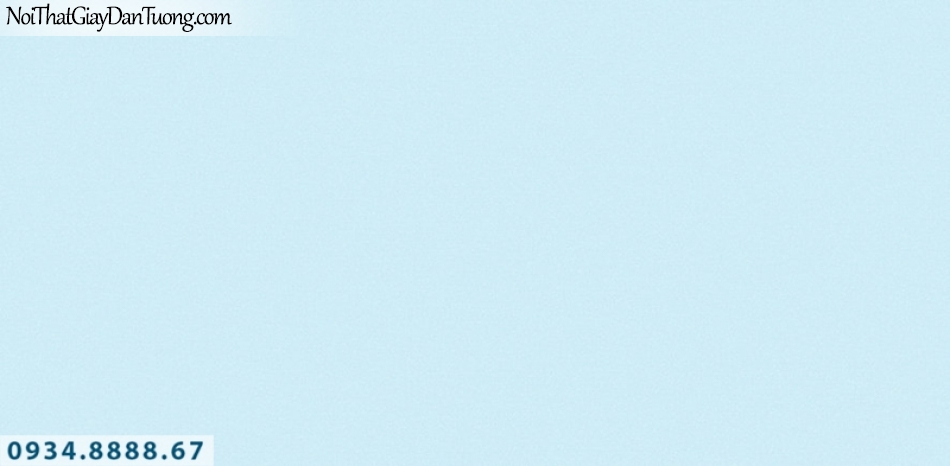 J 100 | Giấy dán tường J100 Hàn Quốc, giấy dán tường màu xanh dương, xanh lơ, gân trơn 9388-3