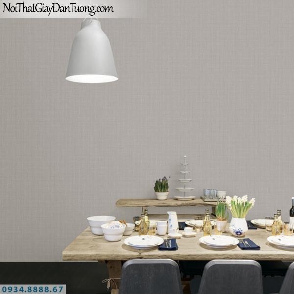 J 100 | Giấy dán tường J100 Hàn Quốc, giấy gân trơn màu xám 9378-4 | thi công giấy dán tường quận 12