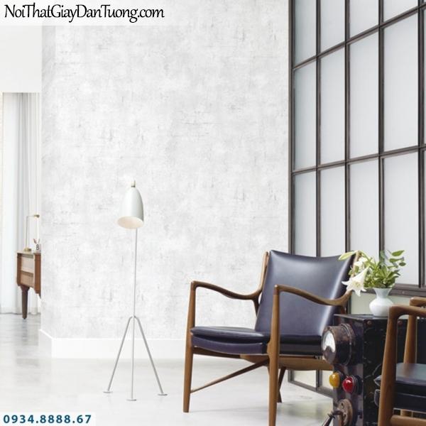 J100 2019 - 2020 | Giấy dán tường J100 mới | Giấy dán tương giả bê tông màu sáng, mà trắng | Giấy dán tường xi măng 9392-1