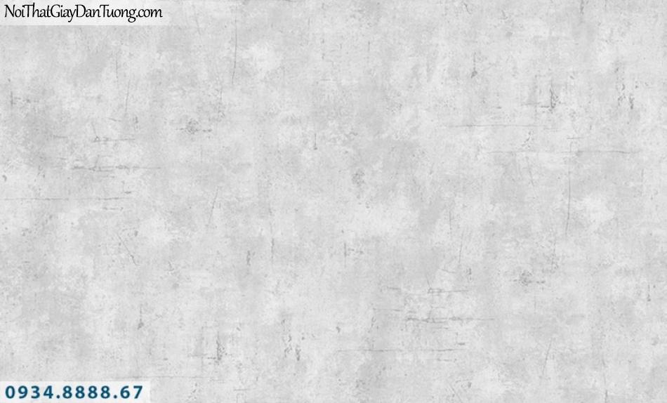J100 2019 - 2020 | Giấy dán tường J100 mới | Giấy dán tương giả bê tông màu xám | Giấy dán tường xi măng 9392-2