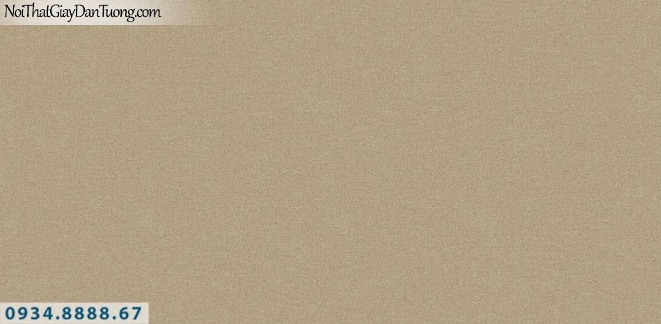 J100 2019 - 2020 | Giấy dán tường J100 mới | giấy gân màu vàng sẫm, màu vàng đất, nâu đất 9389-5