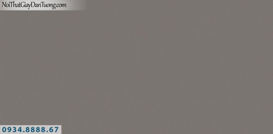 J100 2019 - 2020 | Giấy dán tường J100 mới | giấy gân trơn màu nâu đỏ 9394-5