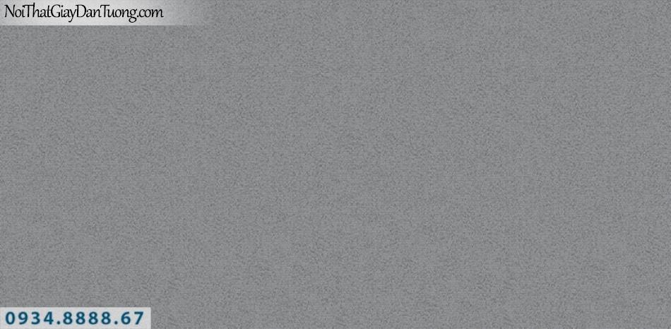 J100 2019 - 2020 | Giấy dán tường J100 mới | giấy gân trơn màu tối, màu đen 9393-5