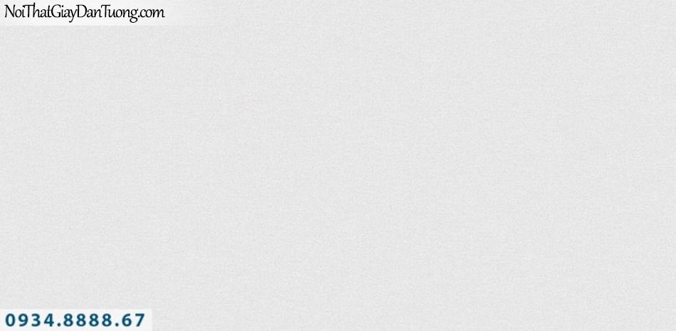 J100 2019 - 2020 | Giấy dán tường J100 mới | giấy gân trơn màu trắng xám 9389-2